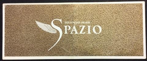 SPAZIO(スパジオ)ディスカウントチケット表側