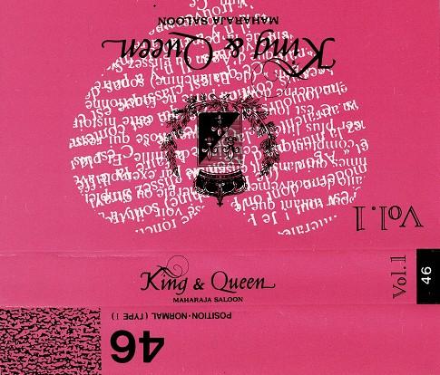 King&QueenカセットテープINDEX