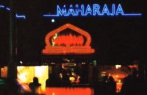当時のMAHARAJA入口